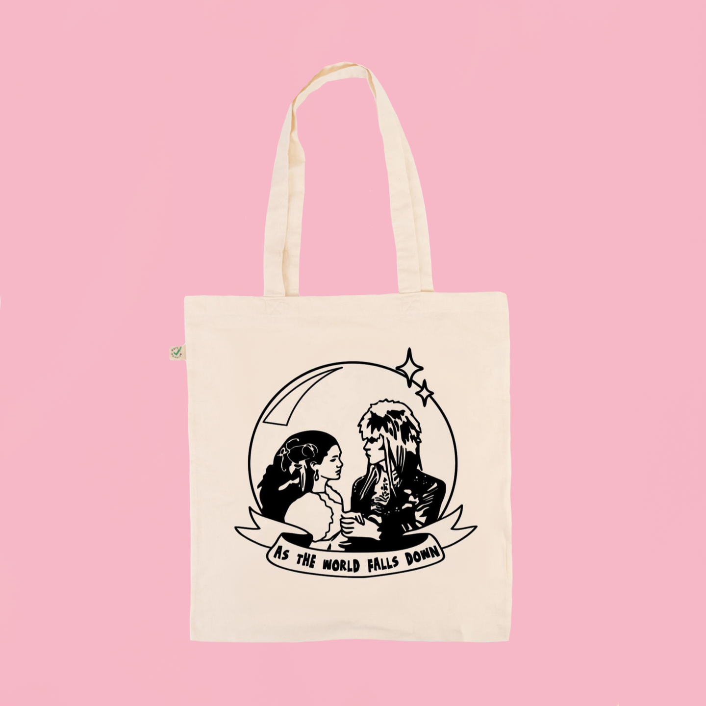 As The World Falls Down - Earth Positive Ethical tote.