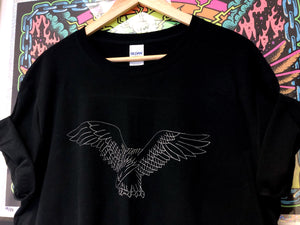 EMBROIDERED EAGLE - SIZE LARGE