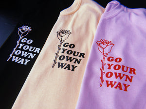 Go Your Own Way Rose - Unisex Tshirts