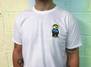 Limited Embroidered Tshirt Print