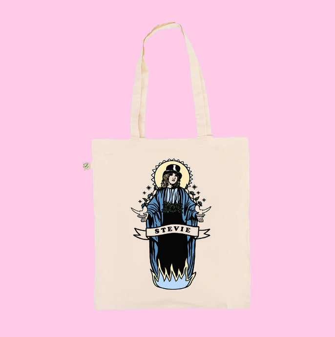 Saint Stevie - Earth Positive Ethical tote.