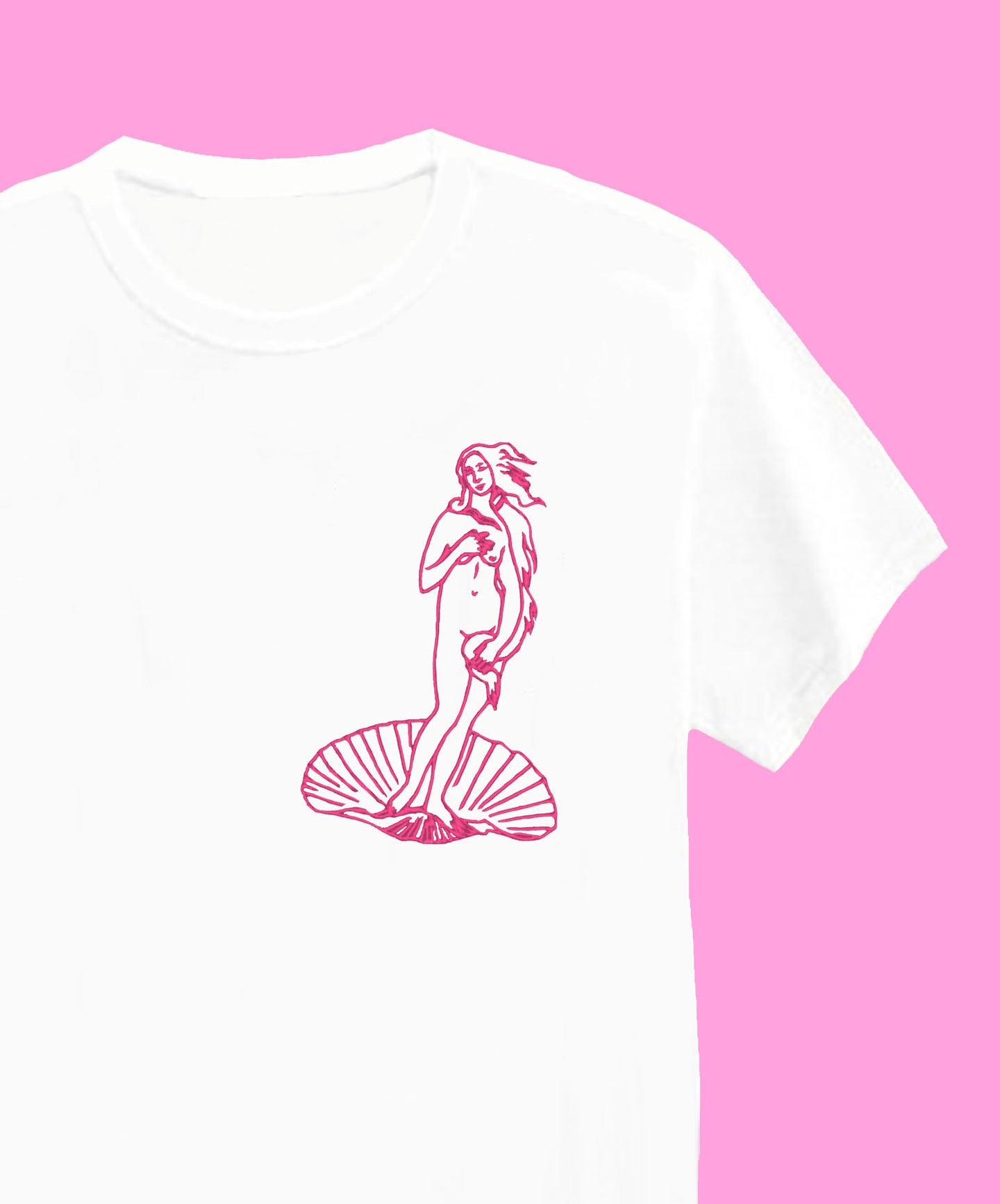 Birth Of Venus - Unisex Embroidered Tees
