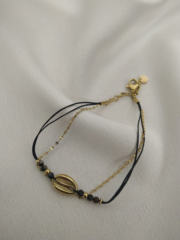 THE SHELL BRACELET -Silk & Salt