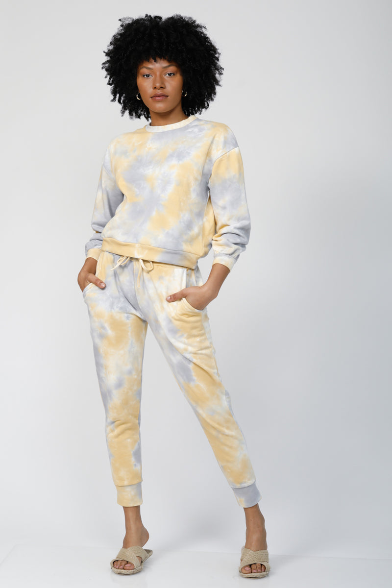 Cloud 9 Cuffed Joggers - Yellow