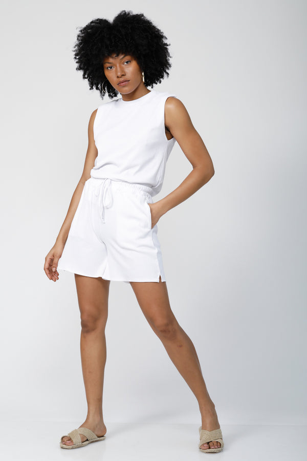 Tomboy Ultra-Soft Shorts - Bright White