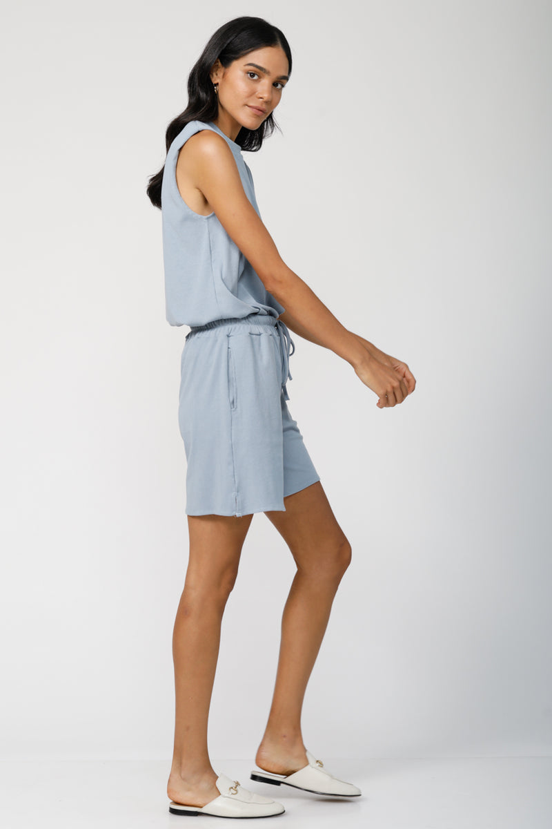 Tomboy Ultra-Soft Shorts - Blue Grey