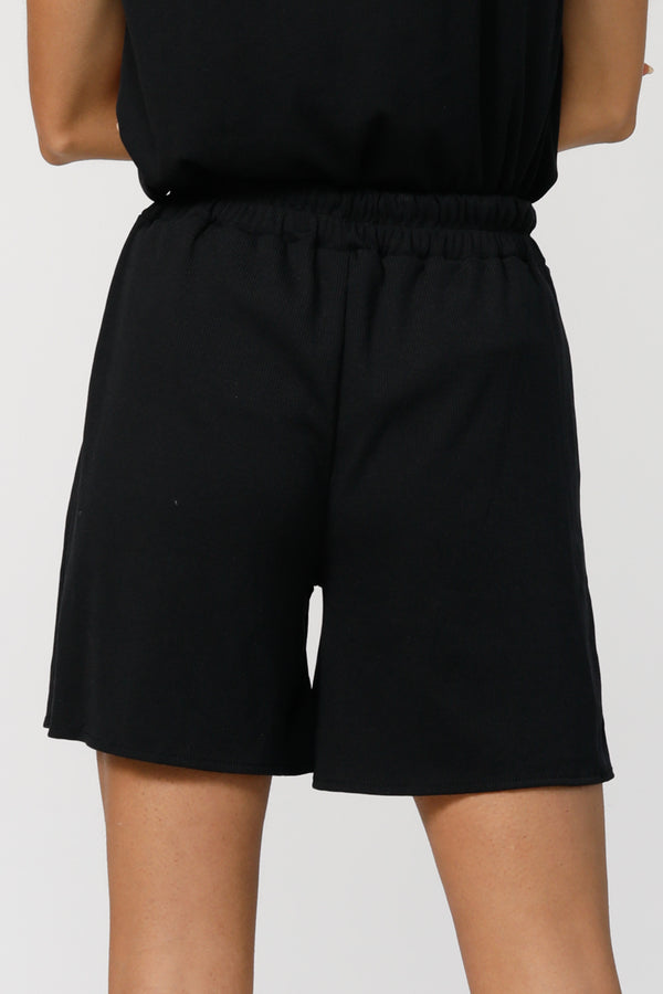 Tomboy Ultra-Soft Shorts - Matte Black