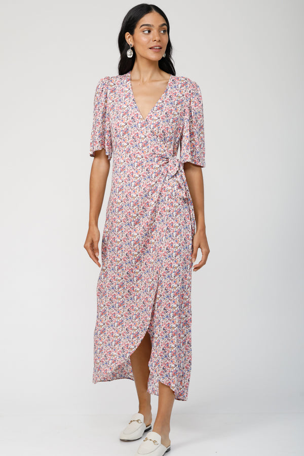 Sweet Lovin' Wrap Dress