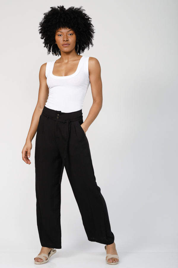 Let Loose High Waisted Trousers