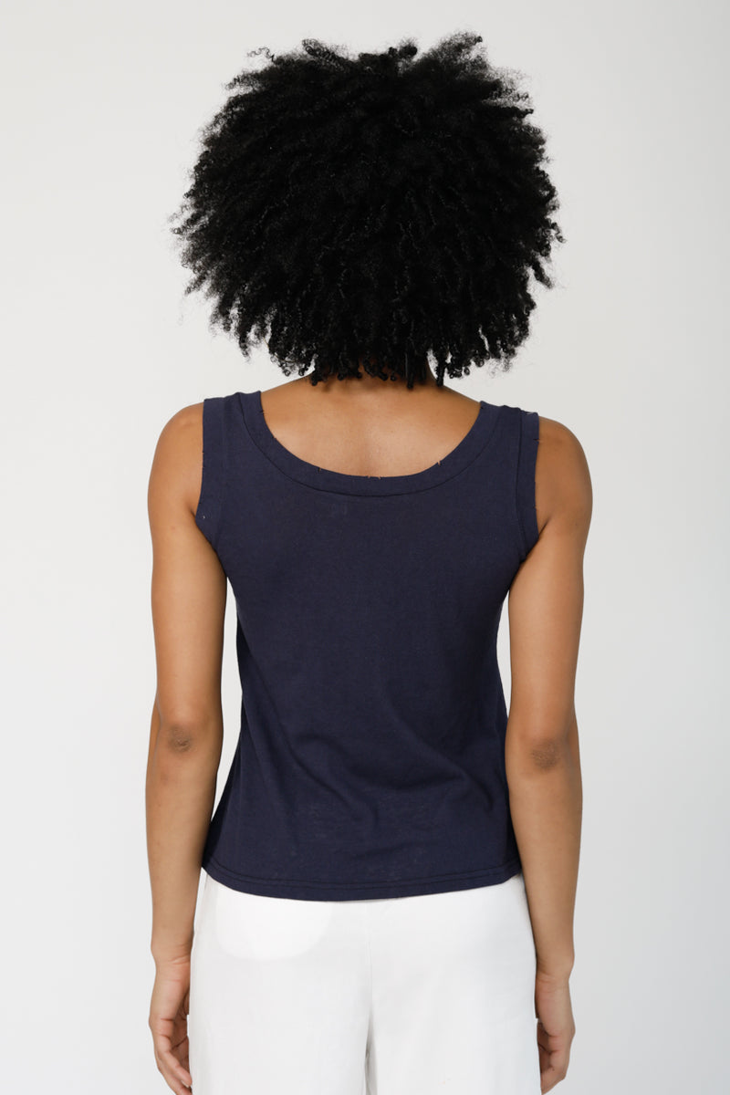 The Simply Tank Top - CHARCOAL
