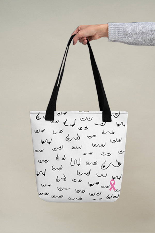 Live & Give Tote bag - White