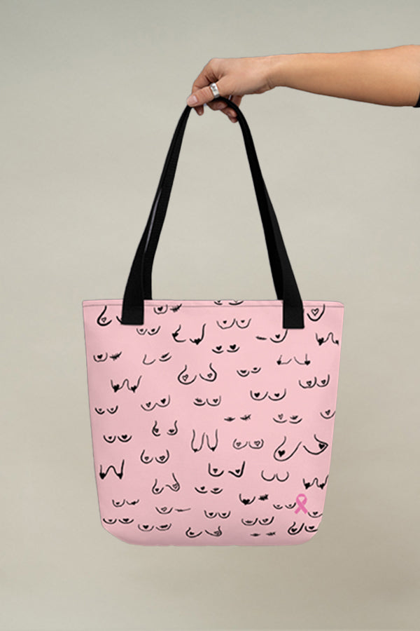 Live & Give Tote bag - Pink