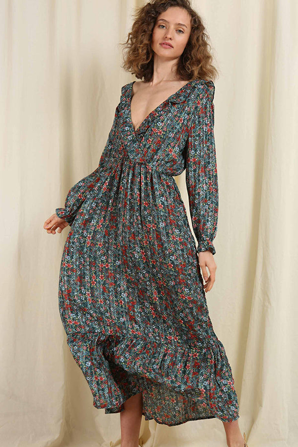 Bonjour Buttercup Maxi Dress