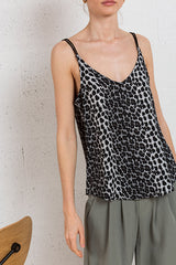 On The Wildside Leopard Cami -Silk & Salt