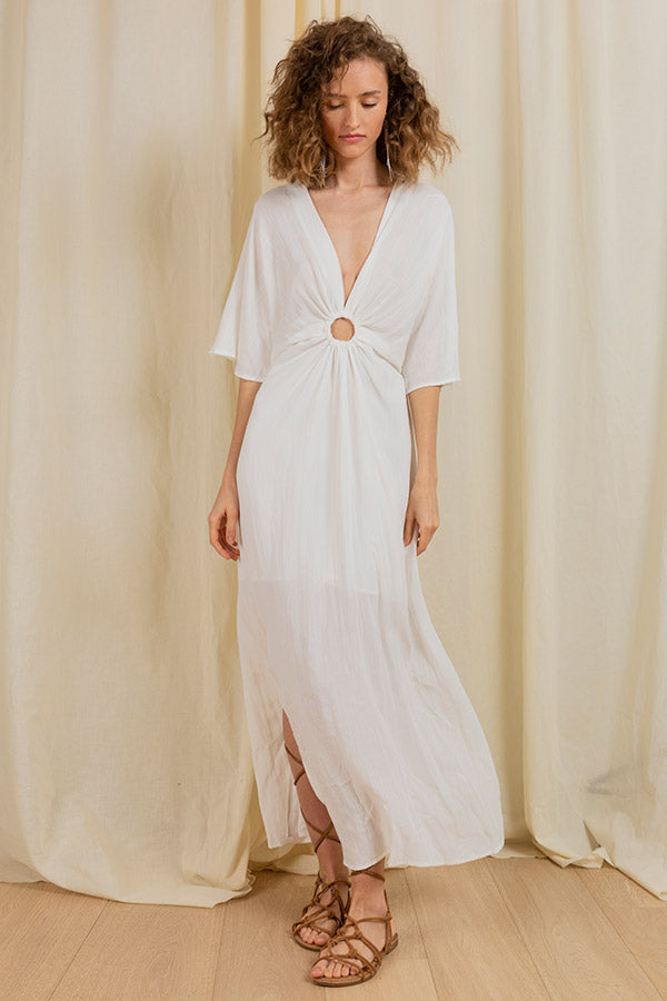 Hamptons Summer Dress -Silk & Salt