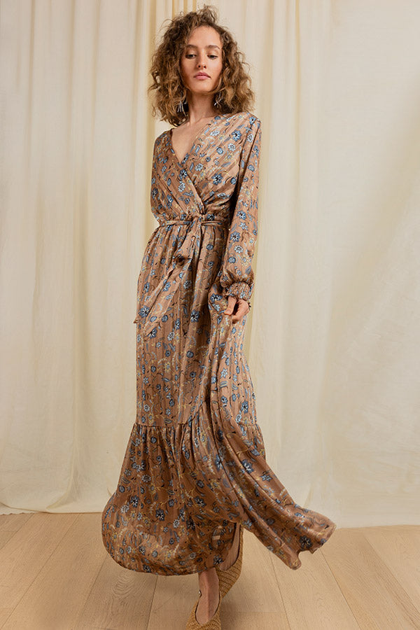 Wild Bloom Maxi Dress -Silk & Salt