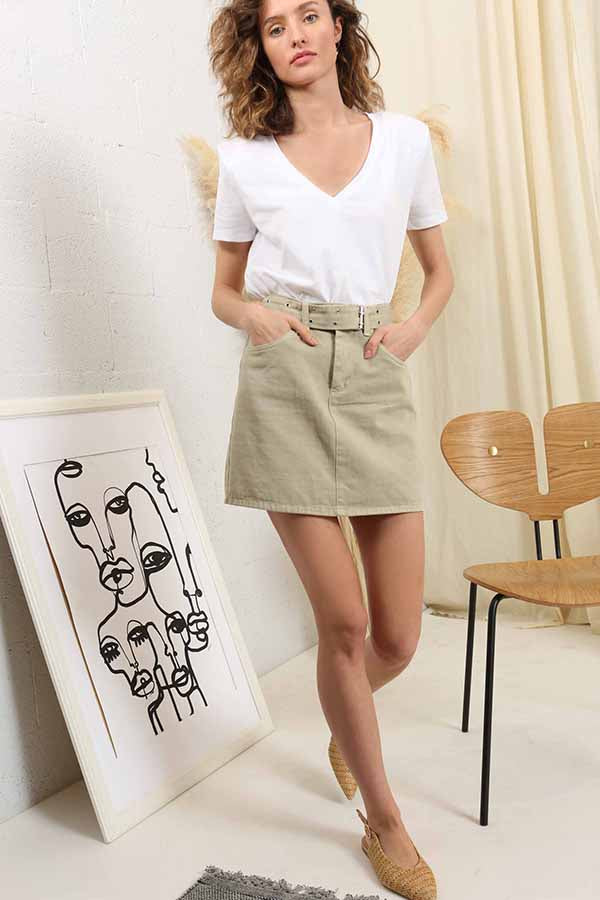 Safari Adventure Skirt -Silk & Salt