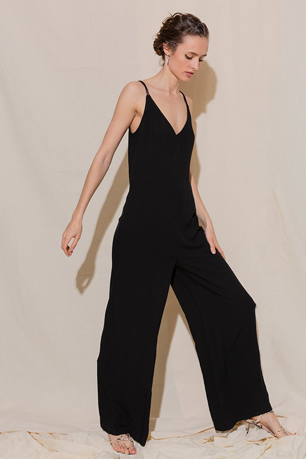 Dangerously in Love Jumpsuit -Silk & Salt