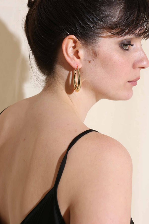 ELIPSA GOLDEN EARRINGS -Silk & Salt