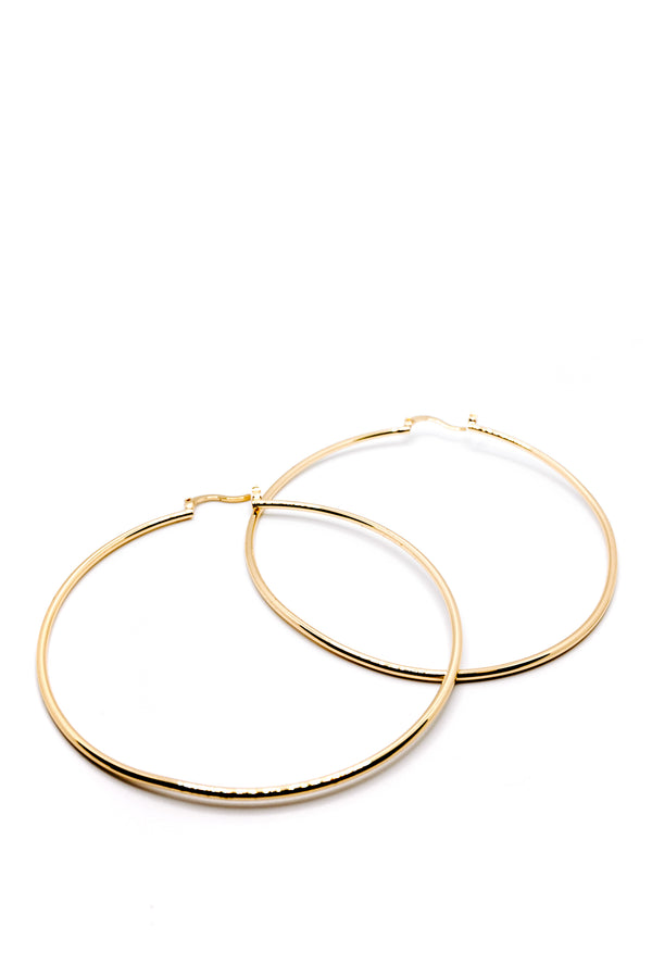LARGE GOLDEN HOOP