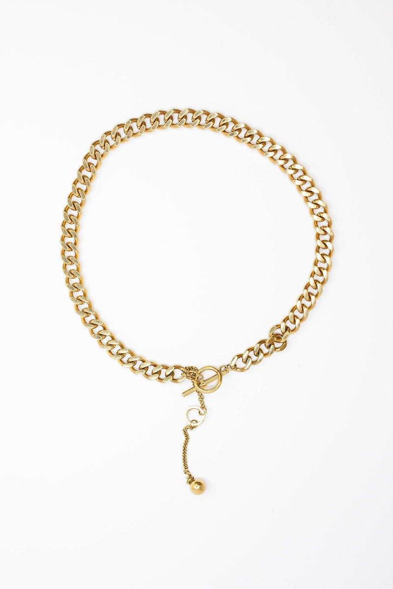 Chained To You Necklace - GOLD