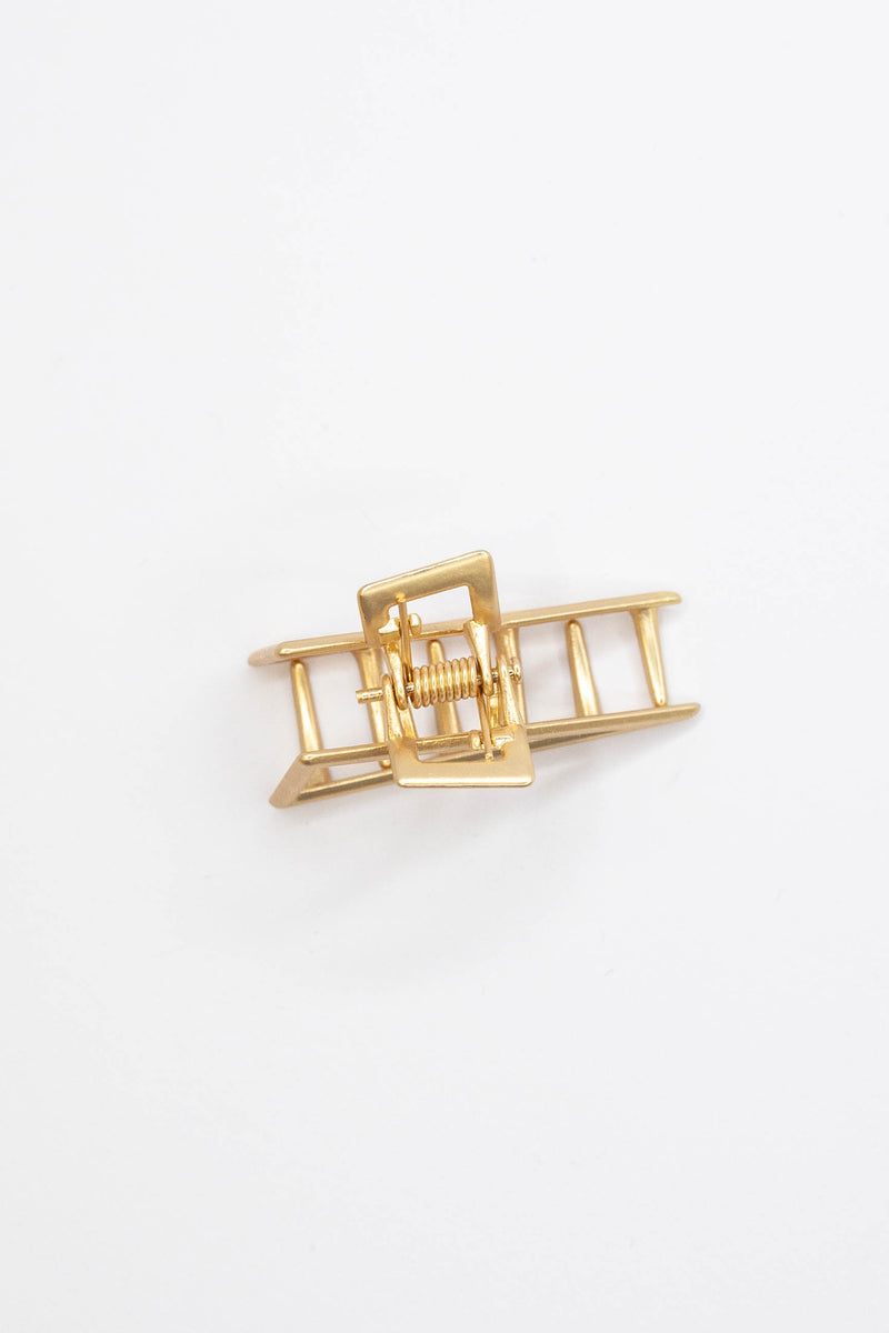 Golden Triangle Hair Clip