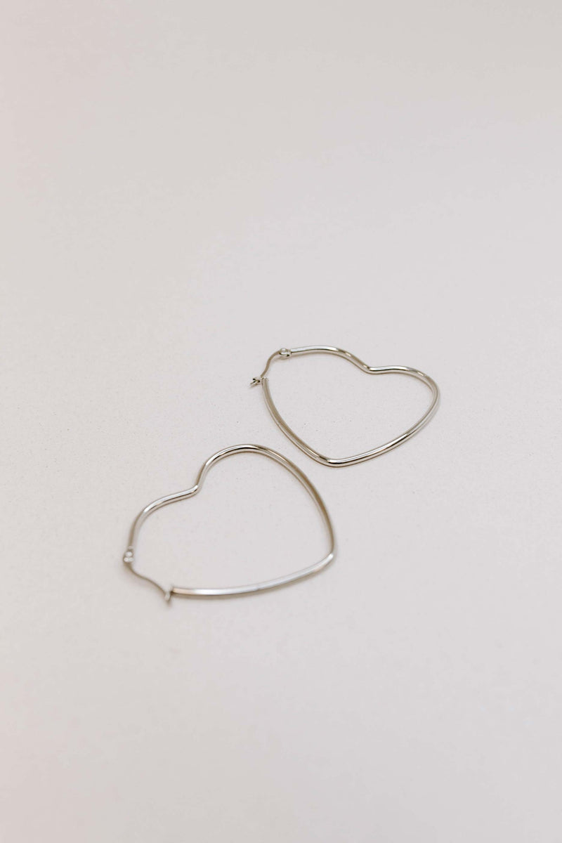 Totally Devoted Hoop Earrings