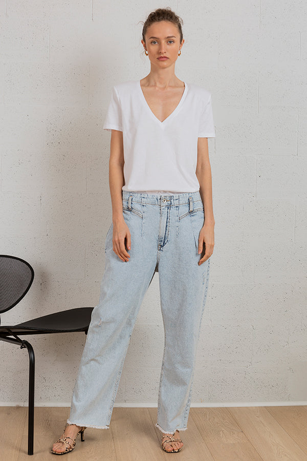 Light River Wide Jeans -Silk & Salt