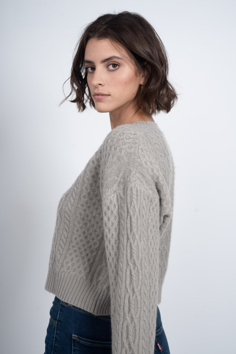 Love Notes Sweater - Grey