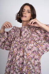 Frills & Thrills Blouse - Floral