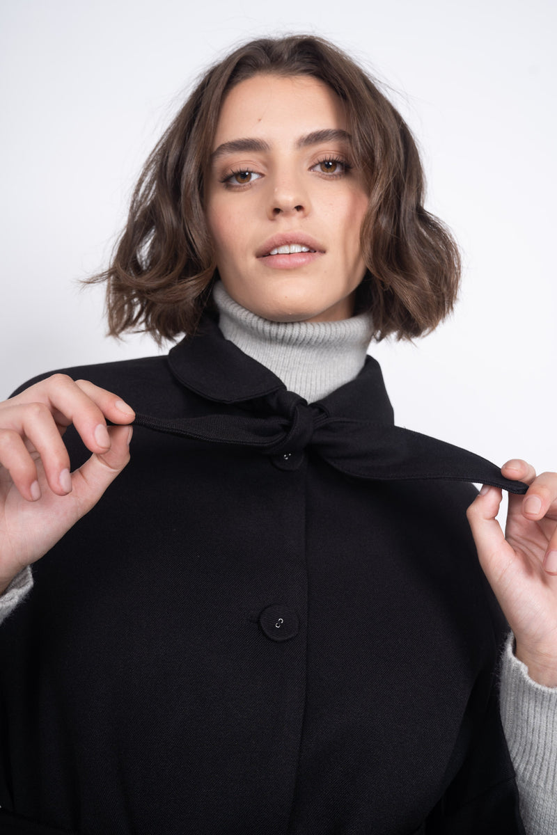 The Chelsea Coat - Black