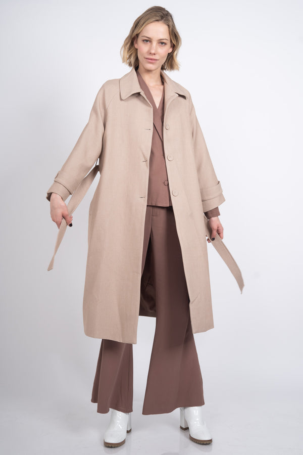 The Chelsea Coat - Camel