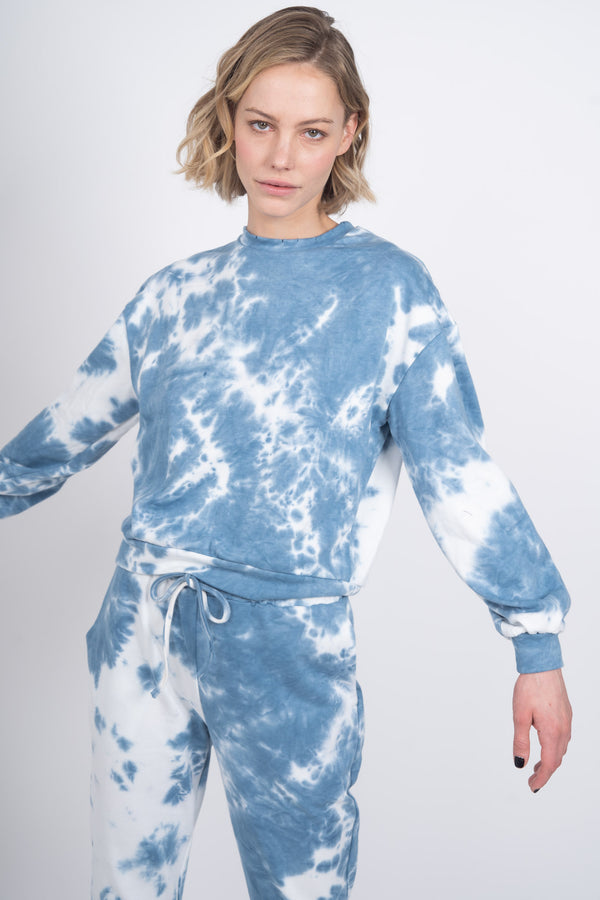 Cloud 9 Crewneck Sweatshirt - Blue