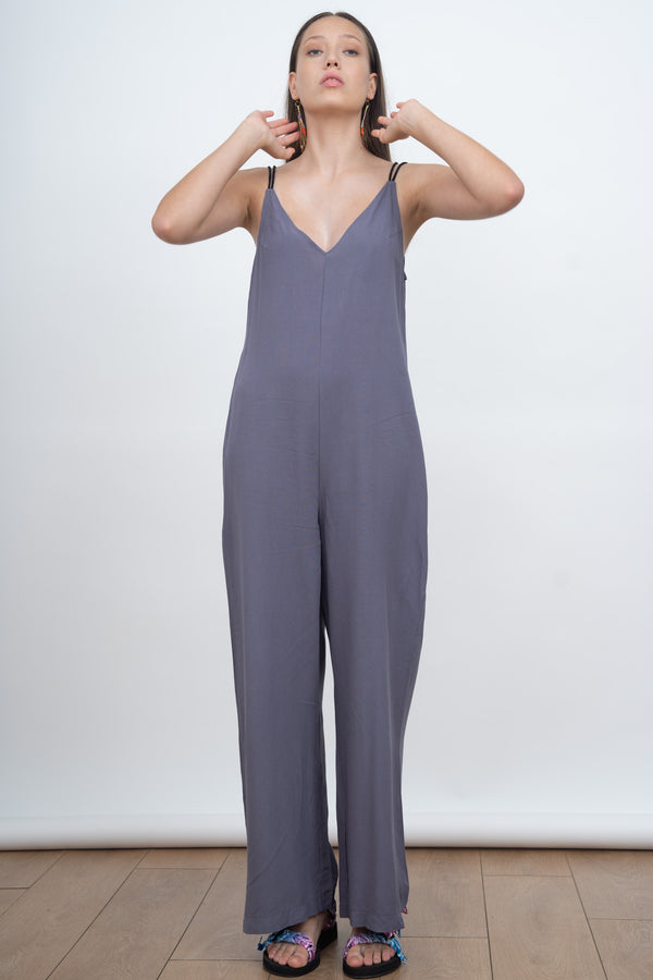 DANGEROUSLY IN LOVE JUMPSUIT - Purple