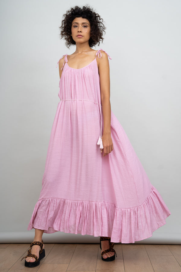 Croatia Summer Dress - Pink
