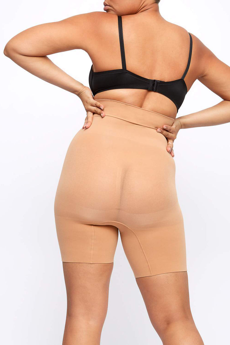 High Waist  Thigh Slimmer Short - AIR
