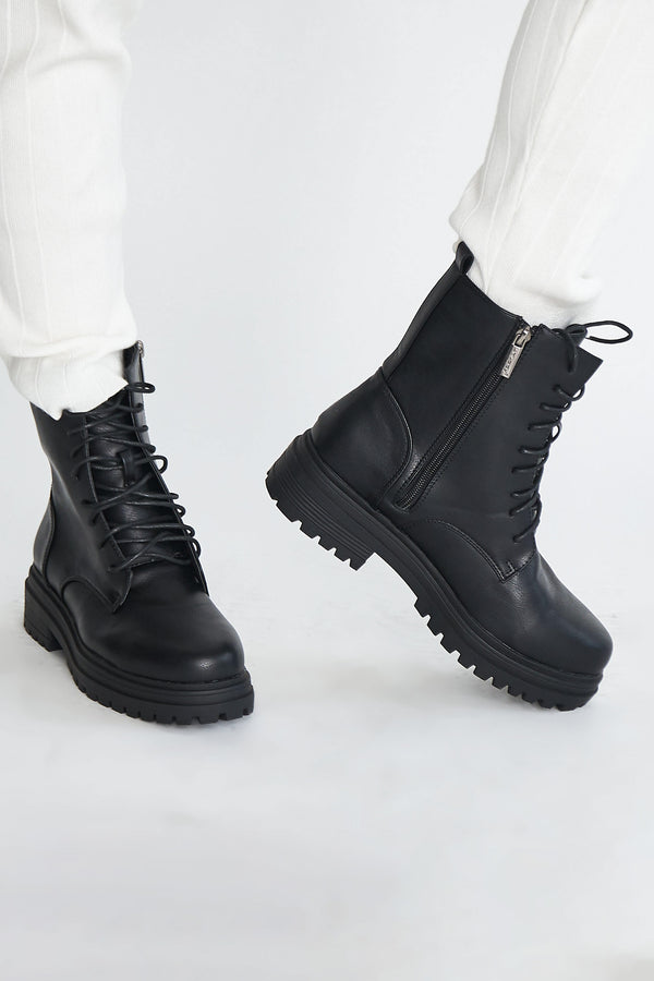 Take A Hike Combat Boots