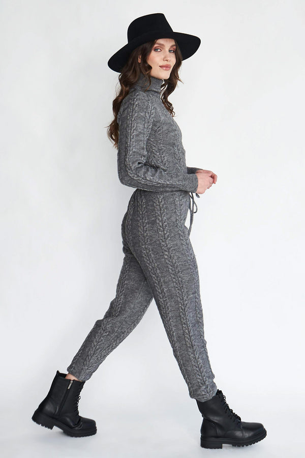 Heather Knit Joggers
