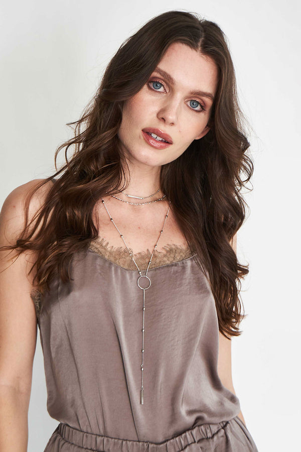 Fawning Over You Lace Tank