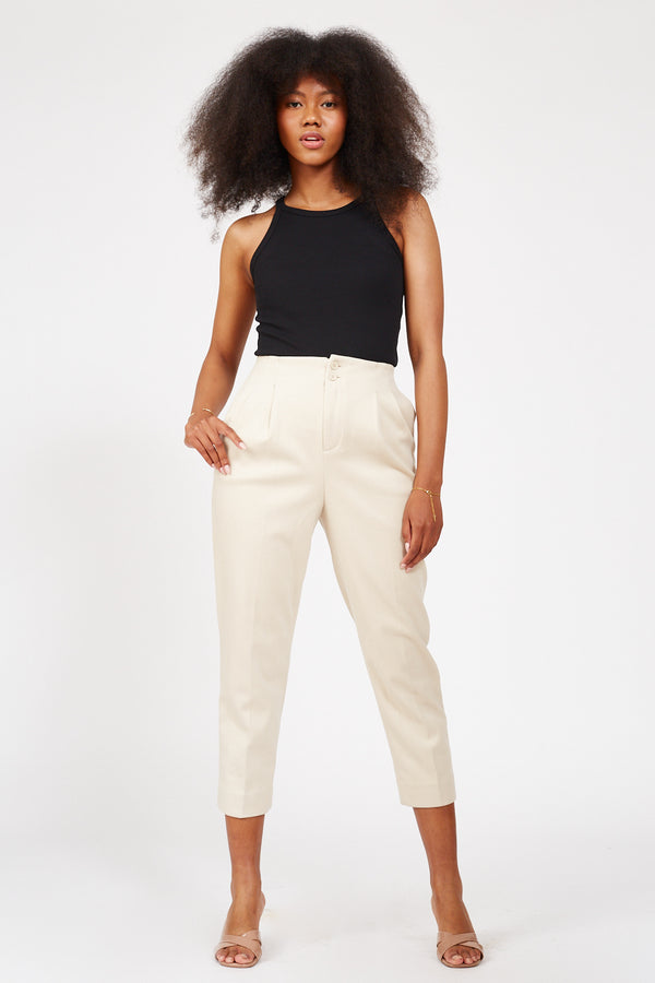 Down To Earth Pants - Apricot