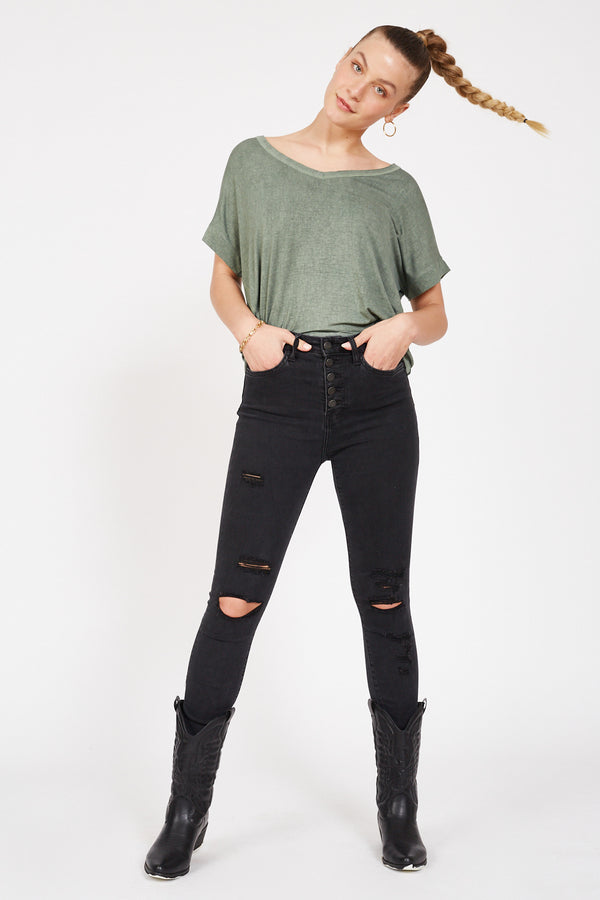 FLYING MONKEY Vixen High-Rise Jeans