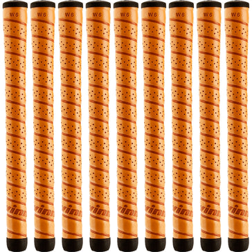 Set of 9 Winn Excel Wrap Midsize Grip, Copper