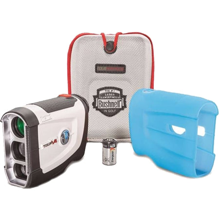 Bushnell Tour V4 Golf Laser Rangefinder Patriot Pack