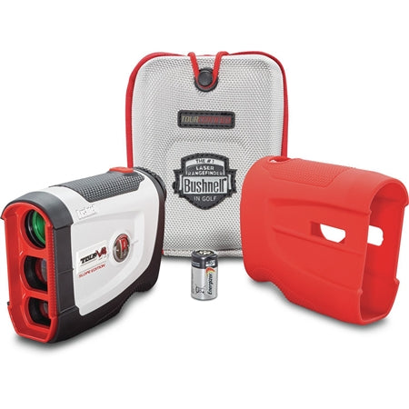 Bushnell Tour V4 Shift Golf Laser Rangefinder Patriot Pack