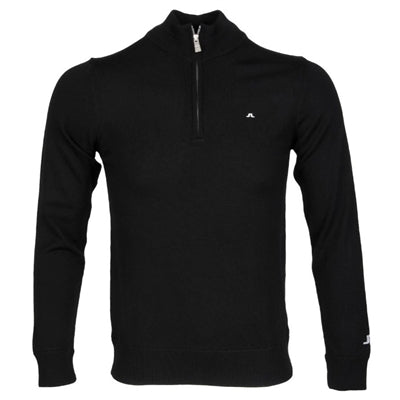 J. Linderberg Men Kian Tour Merino Sweater, Black