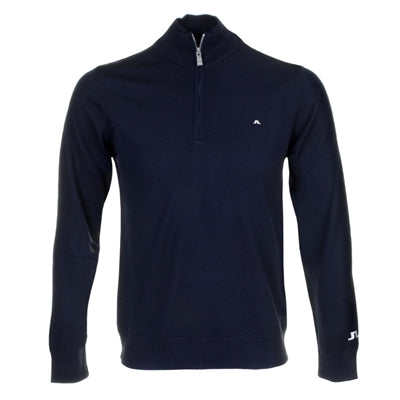 J. Linderberg Men Kian Tour Merino Sweater, Navy