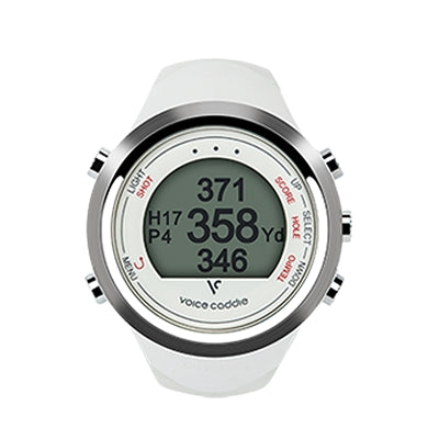 Voice Caddie GPS Hybrid Golf Watch T1, White