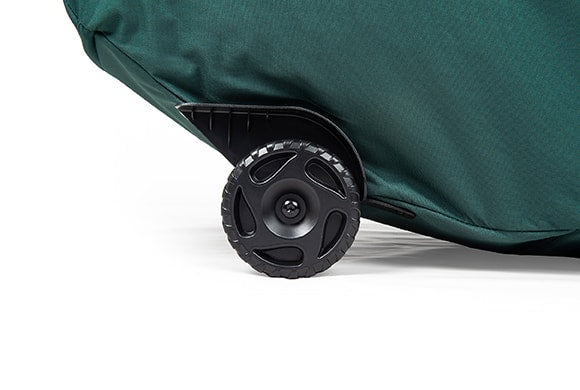 TreeKeeper Bags Big Wheel Super Duffel Tree Storage Bag oversized wheels close up