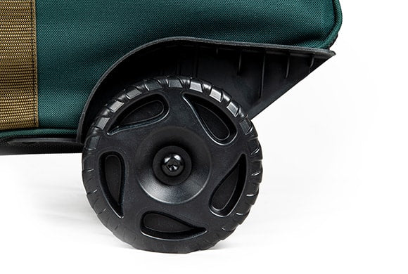 TreeKeeper Bags Big Wheel Multi-Use Storage Bag oversized wheels close up