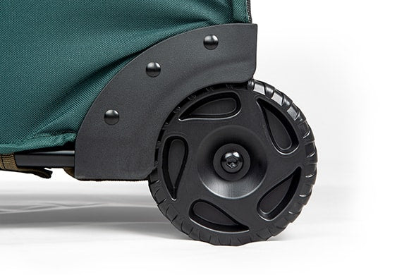 TTreeKeeper Bags GreensKeeper™ Tree Storage Bag oversized wheels close up
